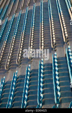 Empty arena seats - Stock Photo