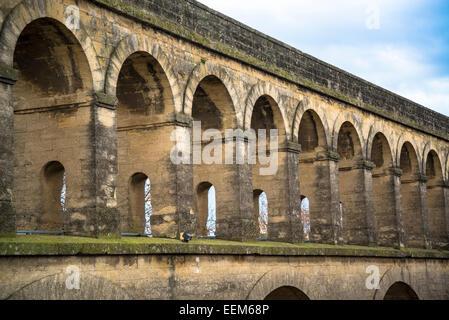 Aqueduct Saint Clement, Montpellier, France - Stock Photo