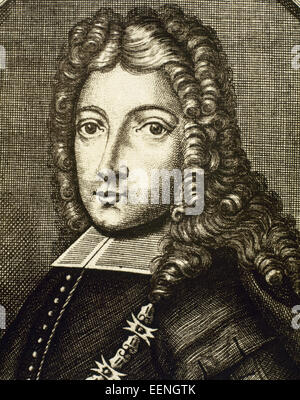 Philip V (1683-1746). King of Spain (1700-january, 1724 and september 1724-1746). He abdicated in favour of his - Stock Photo