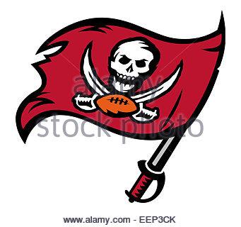 Tampa Bay Buccaneers logo icon symbol - Stock Photo