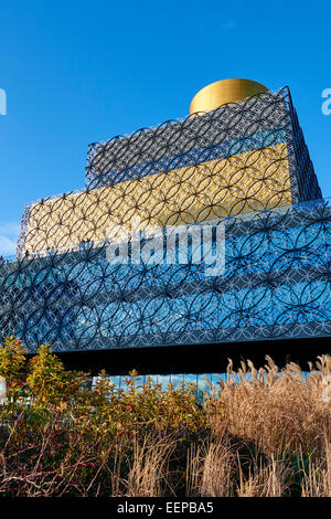 Library Of Birmingham By Architect Francine Houben Centenary Square Broad Street Birmingham West Midlands UK - Stock Photo