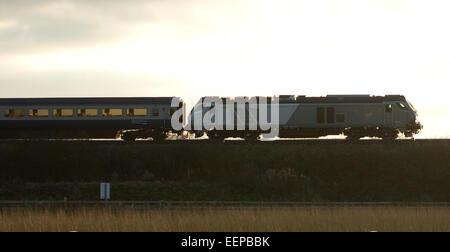 Chiltern Railways class 68 diesel locomotive - Stock Photo