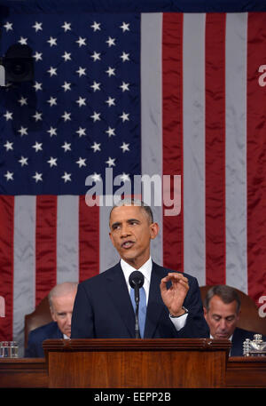 State Of The Union 2015: Live Updates On Obama's Annual Speech