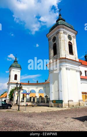 Baroque Church Tykocin Town (Tiktin) - Stock Photo