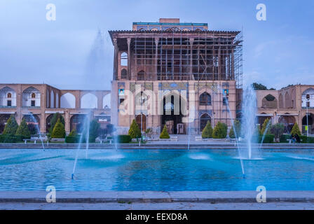 Ali Qapu palace, Isfahan, Iran - Stock Photo