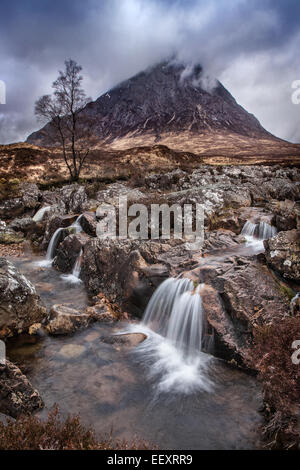 Etive Moor Scotland - Stock Photo