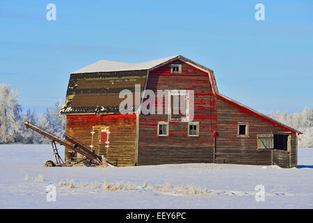 Old Weathered Barn On Cold Spring Ranch Near Crested Butte
