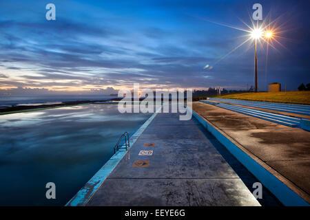 Australian coastal scene - Stock Photo
