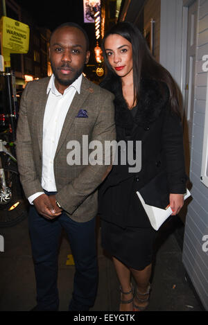 London,UK, 22nd January 2015 : Actor Mo George attends the House of Ho 1st Birthday Party at Soho, London. Credit: - Stock Photo