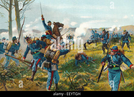 The Battle of Nuits, Bataille de Nuits-Saint-Georges on 18 December 1870 was a battle of the Franco-German War 1870-71, Die Schl
