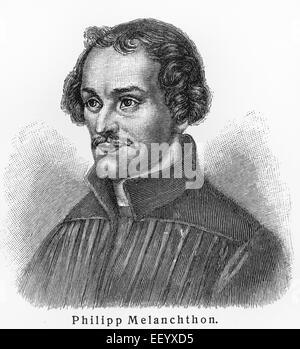 Philipp Melanchthon - Stock Photo