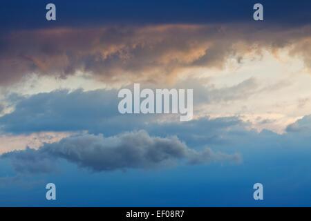 Clouds sky - Stock Photo