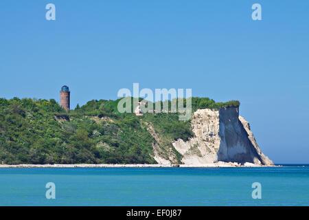 Chalk Cliffs on Rügen Island - Stock Photo