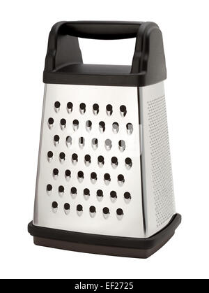 Stainless Steel Box Grater - Stock Photo