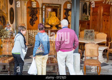 marche aux puces de saint ouen flea market paris silver stock photo 25059854 alamy. Black Bedroom Furniture Sets. Home Design Ideas