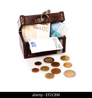 Treasure Chest Europe - Stock Photo