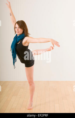 Female ballet dancer - Stock Photo