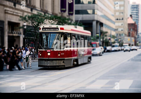Cable Car in Toronto - Stock Photo