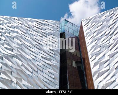 The Titanic museum Belfast Northern Ireland - Stock Photo