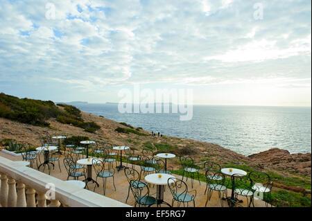 A bar, Ibiza, Spain - Stock Photo