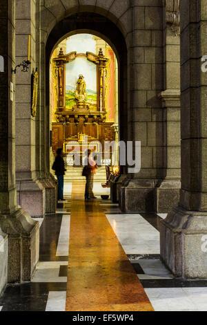 Interior of Basilica Menor Inmaculada Concepcion, Cathedral of Merida. Merida, Merida, Venezuela. - Stock Photo
