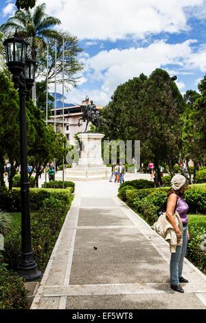 Bolivar Square (Plaza Bolivar). Merida, Merida, Venezuela. - Stock Photo
