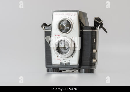 Kodak Brownie Reflex 20 film Camera - Stock Photo