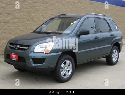 2009 Kia Sportage 1    08 28 2009 - Stock Photo