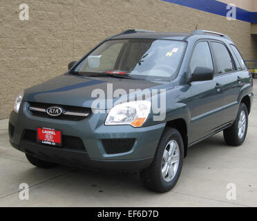 2009 Kia Sportage 2    08 28 2009 - Stock Photo