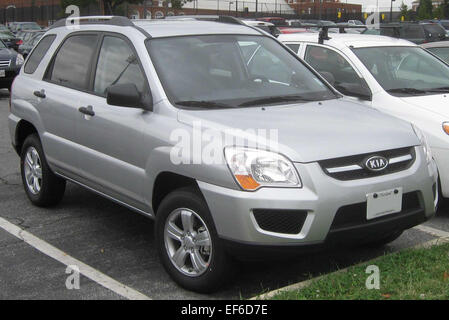 2009 Kia Sportage LX - Stock Photo