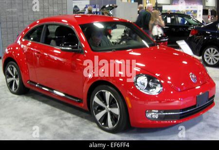 2012 Volkswagen Beetle    2012 DC - Stock Photo