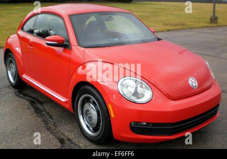 2012 Volkswagen Beetle    NHTSA 2 - Stock Photo