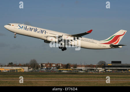 SRILANKAN AIRBUS A340 - Stock Photo