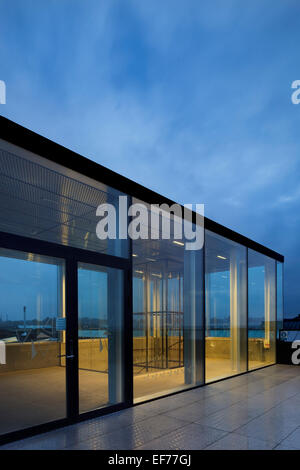 Culture Yard (Kulturvaerftet), Helsingor, Denmark. Architect: AART Architects, 2010. - Stock Photo