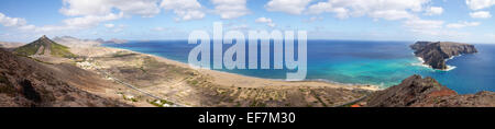 Porto Santo bay overview - Stock Photo