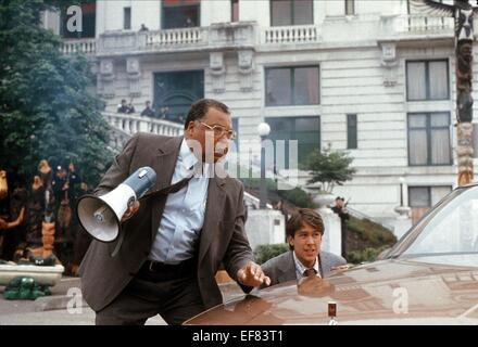 JAMES EARL JONES, ALAN RUCK, THREE FUGITIVES, 1989 - Stock Photo