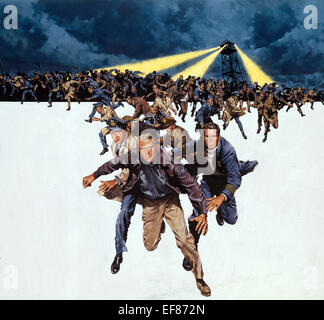 MOVIE POSTER THE GREAT ESCAPE (1963) - Stock Photo