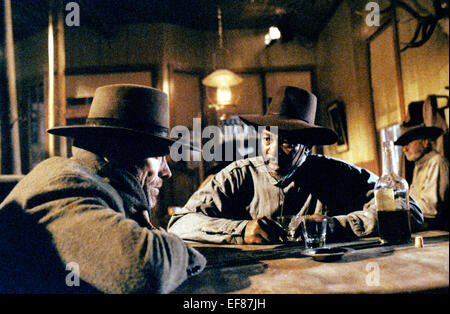 CLINT EASTWOOD, MORGAN FREEMAN, UNFORGIVEN, 1992 - Stock Photo