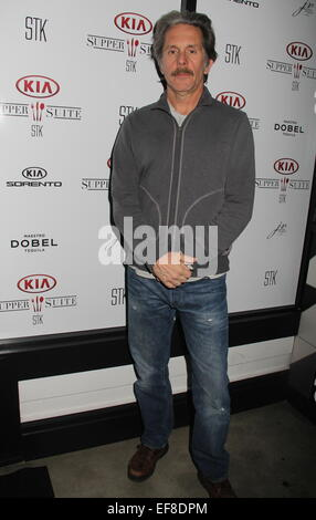 Hollywood, California, USA. 22nd Jan, 2015. I15735CHW.Celebrities Visit The Kia Supper Suite by STK at The 2015 - Stock Photo