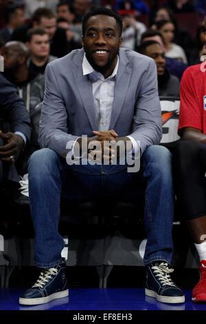 Philadelphia, Pennsylvania, USA. 28th January, 2015. January 28, 2015: Philadelphia 76ers guard Tony Wroten (8) - Stock Photo