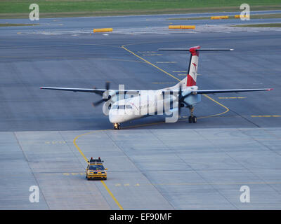 International Airport Vienna, Austrian Airlines, Austria, Lower Austria, Schwechat - Stock Photo