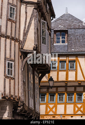 Tmbered French buildings - Stock Photo
