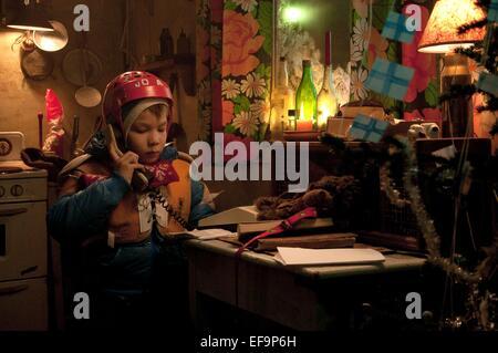 ONNI TOMMILA RARE EXPORTS: A CHRISTMAS TALE (2010) - Stock Photo