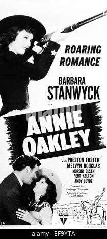 MOVIE POSTER ANNIE OAKLEY (1935)