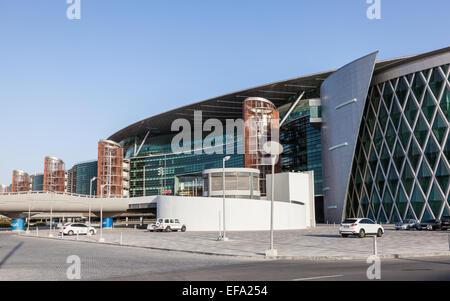 Meydan Race Club  (former Nad Al Sheba Racecourse) in Duba, United Arab Emirates - Stock Photo