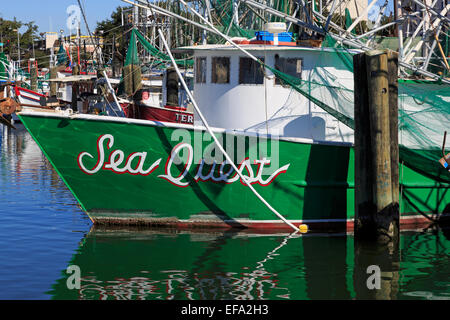 Mississippi gulf coast commercial fishing boats in marina for Biloxi fishing charters