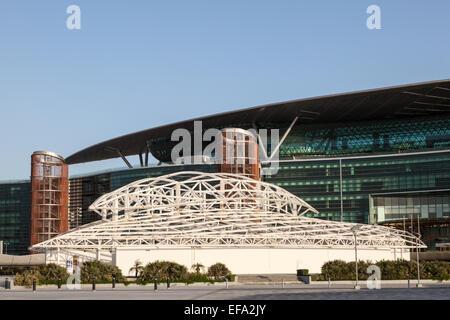 Meydan Race Club  (former Nad Al Sheba Racecourse) in Dubai, United Arab Emirates - Stock Photo