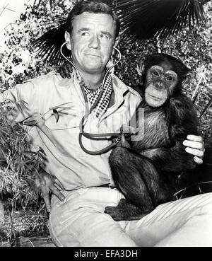 MARSHALL THOMPSON DAKTARI (1966) - Stock Photo