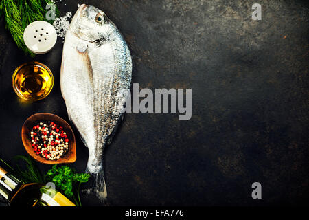 Aromatic sea salt with aromatic herbs fresh peppermint for Aromatic herb for fish