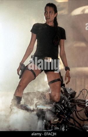ANGELINA JOLIE LARA CROFT: TOMB RAIDER (2001) - Stock Photo